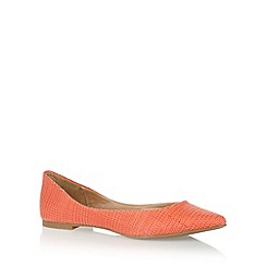 Call It Spring - Orange 'Havrik' pumps