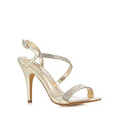 Call It Spring - Gold 'Afilasien' sandals