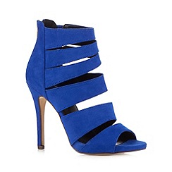 Call It Spring - Blue 'Tria' multi strap sandals