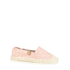 Call It Spring - Coral 'Florinia' espadrille shoes