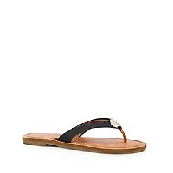 Call It Spring - Black 'Cherallan' flip flops