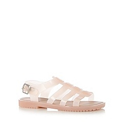 Call It Spring - Pale pink 'Galivia' jelly sandals