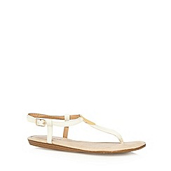 Call It Spring - White 'Zearien' sandals