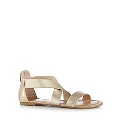 Call It Spring - Light gold 'Chalmers' sandals