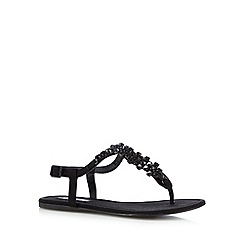 Call It Spring - Black 'Figodda' flip flops