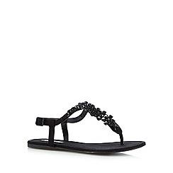 Call It Spring - Black 'Figodda' flip flops