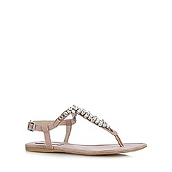 Call It Spring - Taupe 'Figodda' flip flops