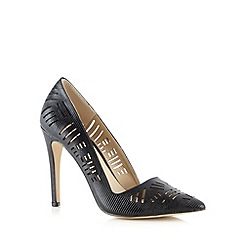 Call It Spring - Black 'Molara' cutout high court shoes