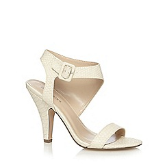 Call It Spring - Natural 'Jennah' snakeskin high sandals