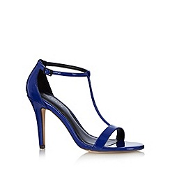 Call It Spring - Blue 'Eadrea' patent high sandals