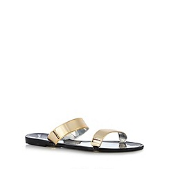 Call It Spring - Black 'Liber' flip flops