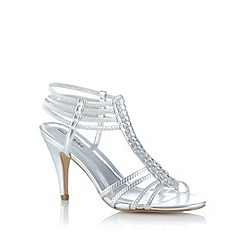 Call It Spring - Silver 'Lerwen' jewel trim high sandals