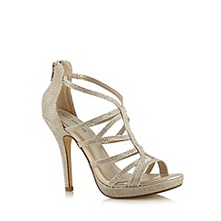 Call It Spring - Gold 'Belloli' high sandals