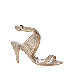 Call It Spring - Gold 'Fiamenga' high sandals