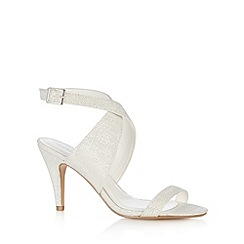 Call It Spring - White 'Fiamenga' high sandals