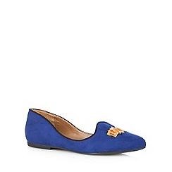 Call It Spring - Navy 'Lerini' slipper shoes