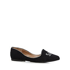 Call It Spring - Black 'Jerilia' slipper shoes