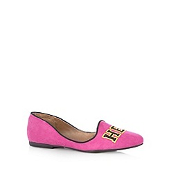 Call It Spring - Pink 'Balicia' slipper shoes