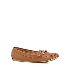 Call It Spring - Tan 'Evzenie' moccasin shoes