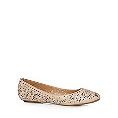 Call It Spring - Light pink 'Miriewet' cutout floral pumps