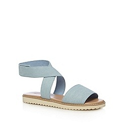 Call It Spring - Light blue 'Poreni' strappy sandals