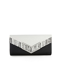 Call It Spring - Black 'Mesrobian' clutch bag