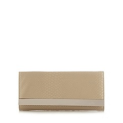 Call It Spring - Natural 'Melicucco' snakeskin clutch bag