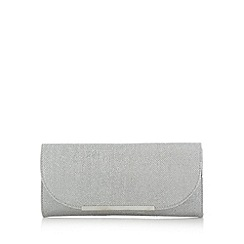 Call It Spring - Silver 'Yoakum' metal edge clutch bag