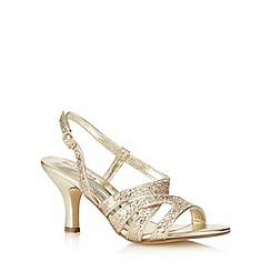 Call It Spring - Gold 'Eganville' mid sandals