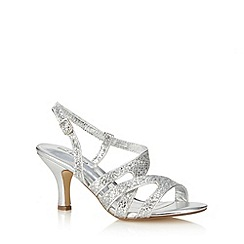 Call It Spring - Silver 'Eganville' mid sandals