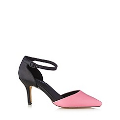 Call It Spring - Bright pink 'Wirawen' colour block high court shoes
