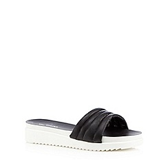 Call It Spring - Black 'Larelisien' slip on sandals