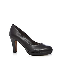 Clarks - Black 'Crisp Kendra' high court shoes