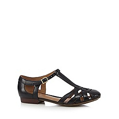 Clarks - Black 'Henderson Luck' strappy sandals