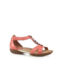 Clarks - Coral 'Raffi Scent' leather embellished sandals