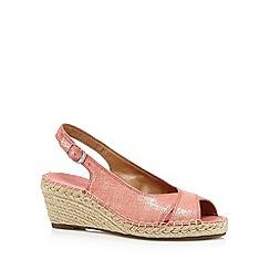 Clarks - Coral 'Petrina Leigh' mid sandals