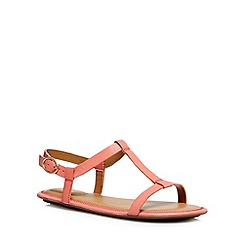 Clarks - Coral 'Risi Hop' leather sandals