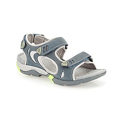 Clarks - Denim Wave Outing riptape flat sporty sandal