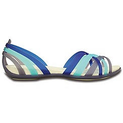 Crocs - Blue strappy flats