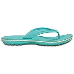 Crocs - Crocband flip flop in pool and white