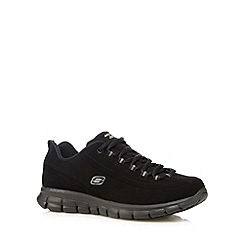 Skechers - Black 'Synergy Trend' memory foam trainers