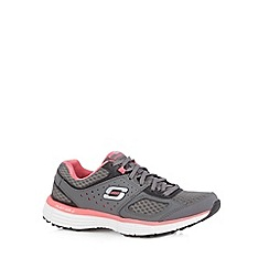 Skechers - Dark grey 'Agility-Perfect Fit' trainers