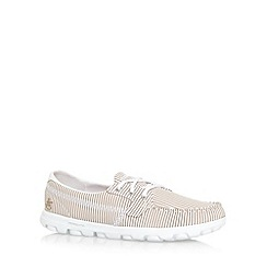 Skechers - Taupe 'On The Go- Sail' pumps