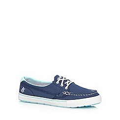 Skechers - Navy 'Vulc-Crew' trainers