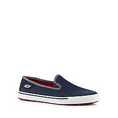 Skechers - Navy 'Go Vulc-Sunset' slip ons