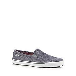Skechers - Grey 'Go Vulc-Laguna' slip ons