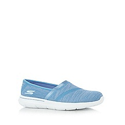 Skechers - Light blue 'Walk-City' pumps