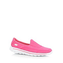Skechers - Bright pink 'Gowalk 2   Super Sock' shoes