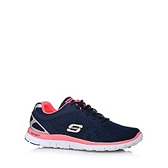 Skechers - Navy 'Love Your Style' memory foam trainers