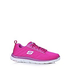 Skechers - Bright pink 'Sweet Spot' memory foam trainers